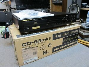 MARANTZ  CD63 mk2 KI SIGNATURE BOXED REMOTE & MANUAL SUPERB