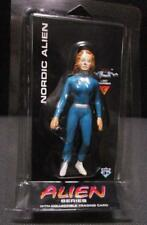 "1996 SHADOWBOX NORDIC ALIEN figure 5"" toy trading card mip sealed"
