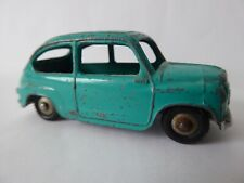 RARE VINTAGE FIAT 600 MERCURY NO.18 MADE IN ITALY LIGHT BLUE/GREEN COLOUR BWD124