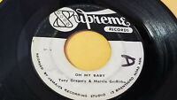 SUPREME/ YOURE MINE, OH MY BABY - TONY GREGORY & MARCIA GRIFFITHS (65 BALLAD