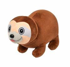 8'' Adorable Brown Sloth Plush Bubble Pet Jungle Stuff Animal Toy
