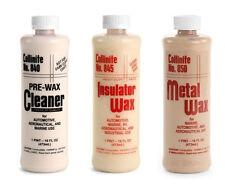 Collinite 840 Cleaner, 845 Insulator Wax & 850 Metal Wax Combo Pack