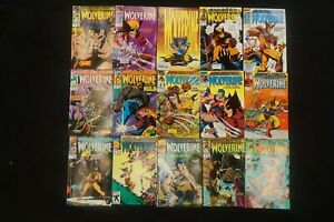 MARVEL COMICS LOT OF 15 WOLVERINE COMICS (7)