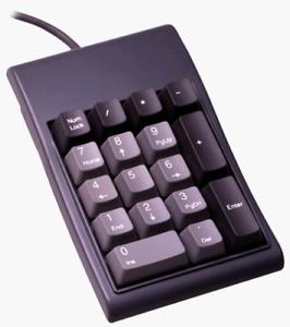 Micro Innovations PS/2 Numeric 17-Key Keypad Wired Gray KP-17B