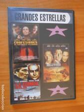 DVD CONFESIONES DE UNA MENTE PELIGROSA / HOLLYWOODLAND / LA TIENDA ROJA (H4)