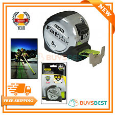 Stanley FatMax Pro Pocket Tape Measure 5 Metre Metric Only - 0-33-887
