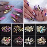 strasssteine glitzern fingernägel schmuck nagel aufkleber pearl edelsteine