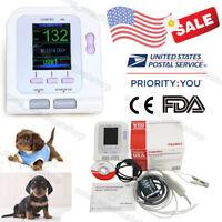 USA Stock,VET Veterinary Digital Blood Pressure Monitor,NIBP machine,Spo2