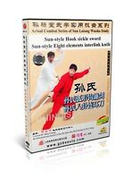 Sun Lutang Style Xingyi Hook sickle sword and 8 interlink knife Deng Fuming DVD