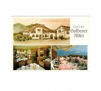 AK Ansichtskarte Corona-Graun / Südtirol / Gasthof Albergo Goldener Adler - 1992