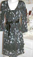 Noa Noa Kleid Dress Wrap  Exclusiv Soprano Silk  Printed  Black Size: S  Neu