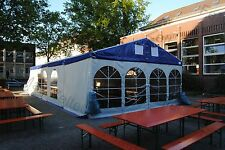 10x9m Festzelt Partyzelt Veranstaltungszelt Hochzeitszelt / Traufe 2.25 m PVC
