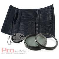 62mm UV filter + CPL Filter Lens Cap FOR nikon sigma sony pentax tamron