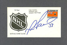Yves Racine signed Detroit Red Wings hockey first day cover