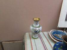 "Vintage Japanese Oriental Cloisonne Vase Excellent 9"""
