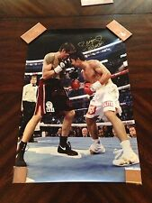 "Manny ""PACMAN"" Pacquiao Boxing Signed 20x30 Photo PSA/DNA COA"