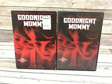 Goodnight Mommy (DVD, 2015) Susanna Wuest, Elias Schwarz Horror Film w Slipcover