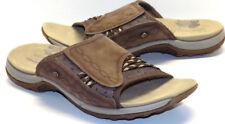 MERRELL Bracken Brown Nubuck Leather Slides Sandals Women's 37 US Shoe Size 6M
