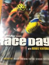 Race Day W/ Robbie Ventura Real Rides Dvd 2007 Racing Simulation Indoor Training