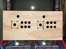 Mortal Kombat Style 6 Button Arcade Wood Mame Control Panel NOS CPO