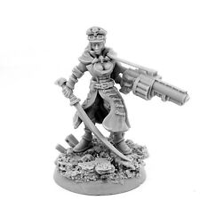 28mm scale IMPERIAL SOLIDER FEMALE COMMISSAR WITH GRENADE LAUNCHER