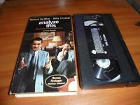 Analyze This (VHS, 2000)
