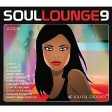 SOUL LOUNGE VOL.9-40 SOULFUL GROOVES 3 CD NEU