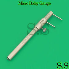Dental Micro Boley Gauge Material Thickness Teeth Size Measuring Tool
