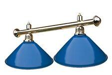 Luminaire lampe eclairage billard 2 globes bleus