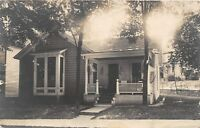 D43/ Bradford Pennsylvania Pa Real Photo RPPC Postcard 1911 Homes Residence
