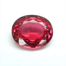 10.43 carats HUGE RED ORANGE SAPPHIRE OVAL LOOSE GEMSTONE JEWELRY ovale saphir