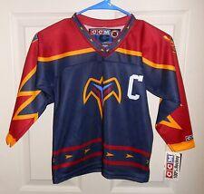 NWT Atlanta Thrashers NHL Alternate Hockey Jersey CCM Canada Freeburg 77 Rare