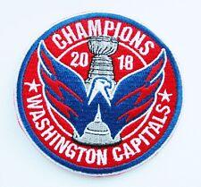 1) LOT OF (1) HOCKEY 2018 CHAMPION WASHINGTON CAPITALS PATCH ITEM # 91