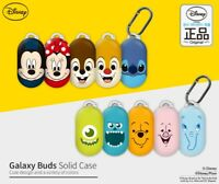 Official Disney Characters Samsung Galaxy Buds Earphone Case Cover With Clip
