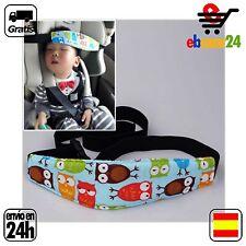 Banda sujeta cabeza niño silla coche dormido bebe *Envío GRATIS desde España*