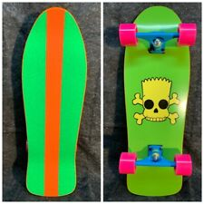 Custom Built Bart Simpson Skateboard 10 x 30� Powell Santa Cruz G&S Sims Rad!