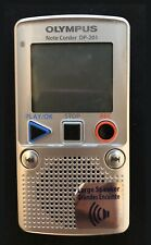 Olympis Dp 201 Digital Recorder In Excellent Condition!