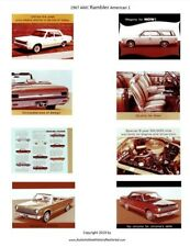 1967 AMC Dealer All American Showroom Posters 1/18 Scale
