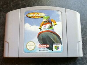 NINTENDO 64 GAME WAVE RACE 64 TESTED WORKS GREAT N64 RETRO GAMING GAME ONLY