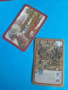 Genuine Vintage,Swap/playing cards,  Caspari,Artist, C, Monet, Paintings.