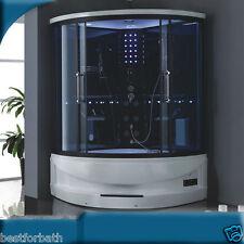 2 PERSON Steam Shower Room w/Whirlpool,Aromatherapy,Bluetooth.Warranty