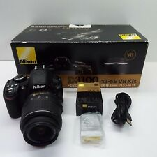 Nikon D3100 14.2MP Black Digital Camera with 18-55mm VR Lens Kit (DISPLAY UNIT)