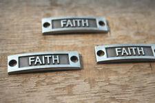 10pcs FAITH charms silver tone faith charms pendant,FAITH Connector,36x10mm