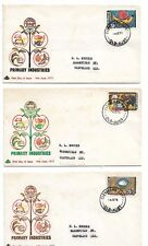 1972 Royal Brand Fdc Part 3 Primary industries Fdi Cleveland East Qld 14 Je 1972