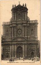 CPA Les Eglises de PARIS 4e St. Paul, St. Louis. (463946)