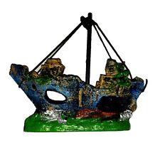 Aquarium Schiff Deko Fisch Terrarium Dekoration Versteck Pirat Piratenschiff