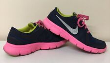 Womens Nike Flex Experience Run 2. Running Trainers. Uk Size 4. Blue/Pink.