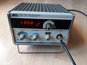 HEWLETT PACKARD HP 3403C TRUE RMS VOLTMETER Millivoltmeter Pegelmesser 2Hz-100MH