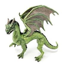 "Forest Dragon Green Irridescent Scales Safari Ltd 6.5"" Long Fantasy Myth Figure"