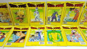 COLECCION DRAGON BALL SERIE AMARILLA BOLA DE DRAGON COMICS VINTAGE